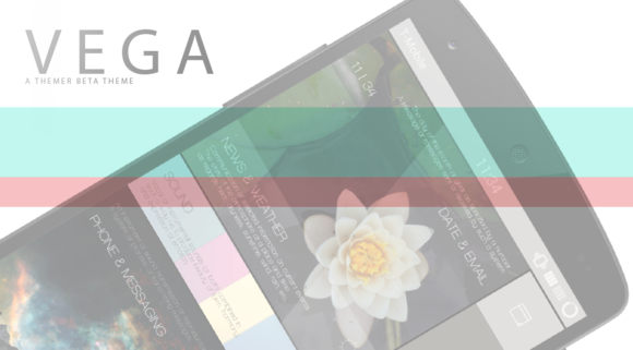 Vega An Android Themer Theme