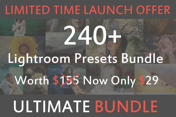 240 Premium Lightroom Presets