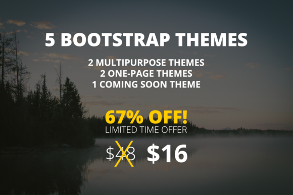 Theme Bundle 5 Bootstrap Themes