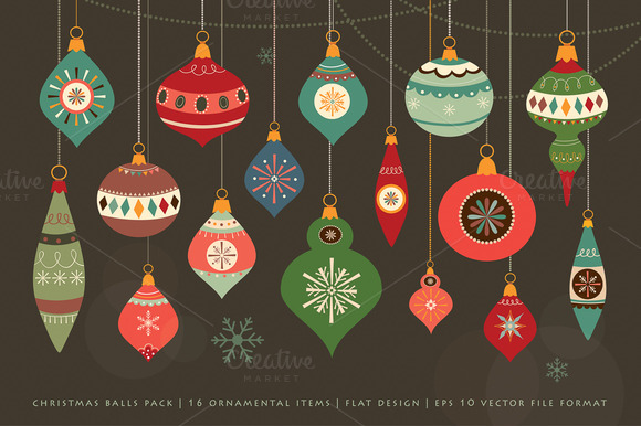 Christmas Balls Pack