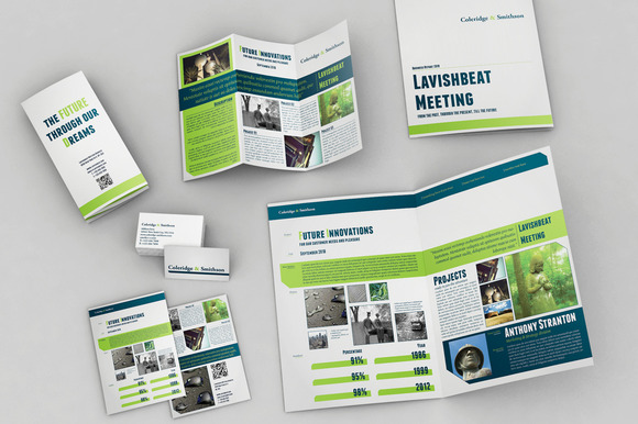 Set Of Brochures Stationery