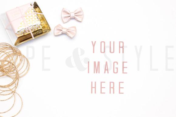 Styled Stock Photo Vanity Scene