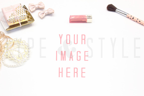 Styled Stock Photo Vanity Mock-up