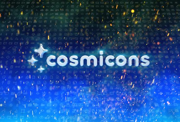 Cosmicons Vector UI Icon Set Fon