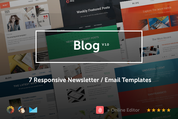 Blog Email Template Bundle Editor
