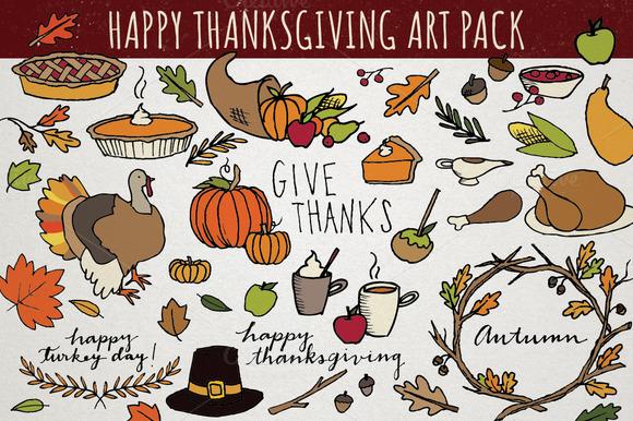 Thanksgiving Art Pack