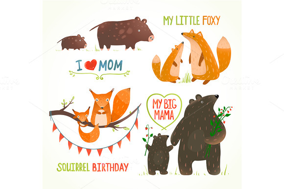 Forest Animals Babies