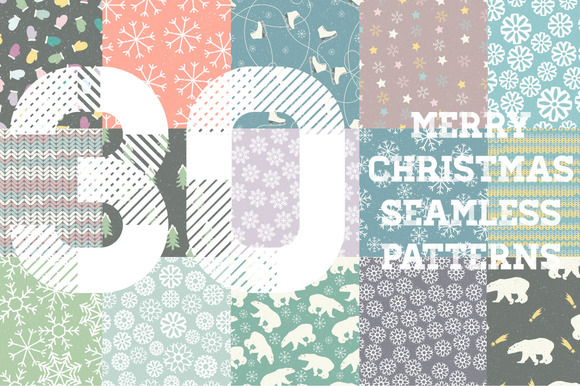 25%OFF Merry Christmas Patterns