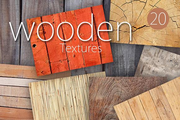 20 Wooden Textures