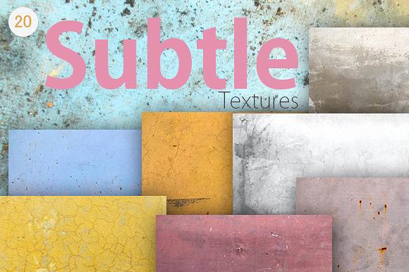 20 Subtle Textures