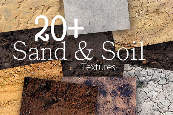 20 Sand Soil Textures Pack