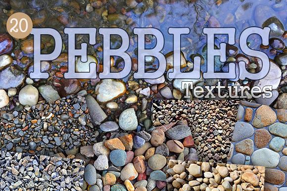 20 Pebbles Textures