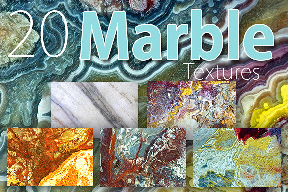 20 Marble Textures Pack