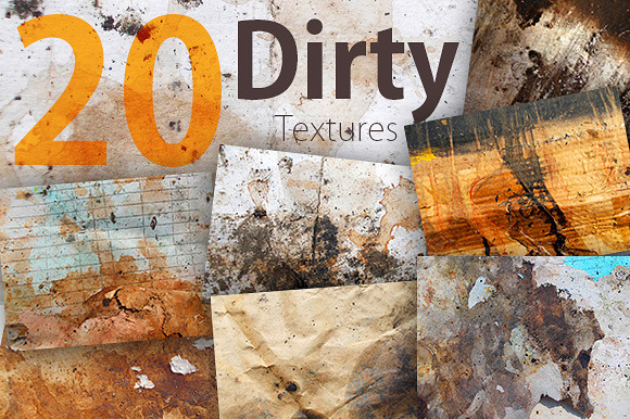 20 Dirty Texture Pack