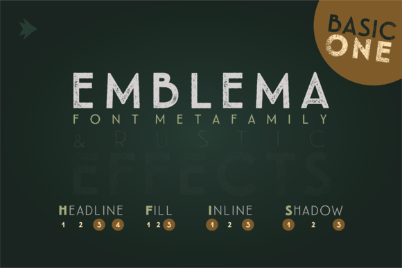 Emblema Headline 1BASIC