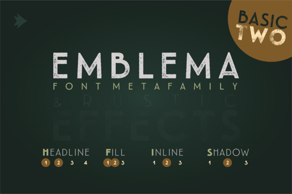 Emblema Headline 2BASIC