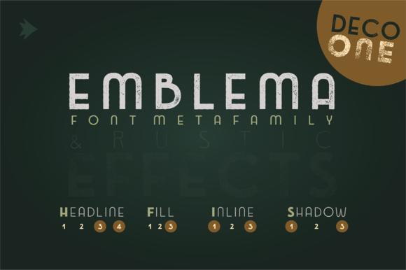 Emblema Headline 1DECO