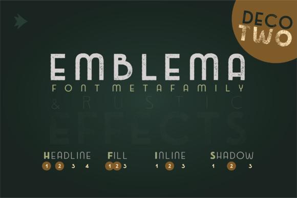 Emblema Headline 2DECO