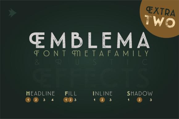 Emblema Headline 2EXTRA