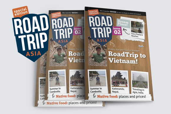 AsiaTrip Magazine Template Issue #2