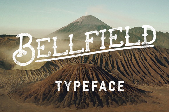 Bellfield Tattoo Typeface