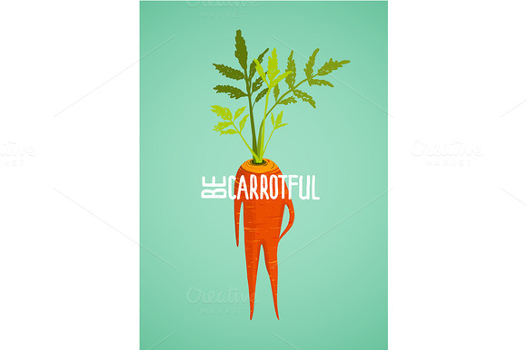 Carrot Diet Vegetable Concept
