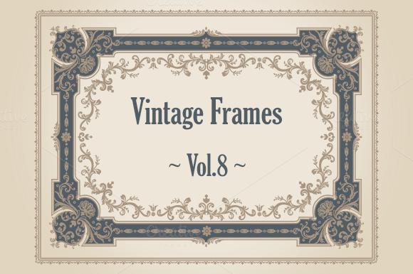 24 Vintage Frames Vol.8