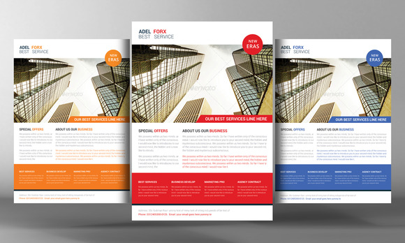 Marketing Agency Flyer Template