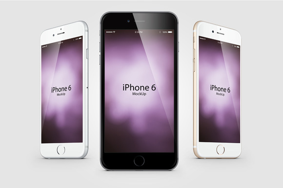 Mockup Composition Iphone 6