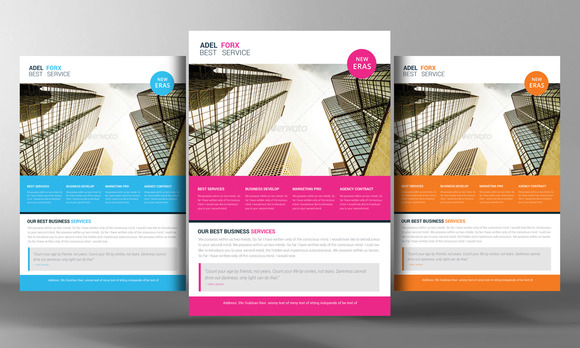 Marketing Business Flyer Template