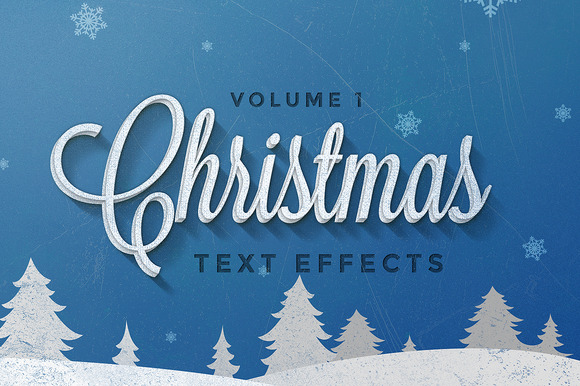 Christmas Text Effects Vol.1