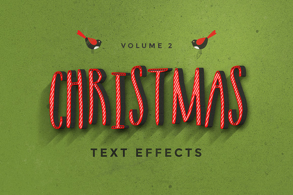 Christmas Text Effects Vol.2