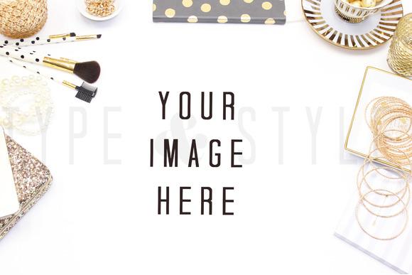 Styled Stock Photo Vanity Mock Up
