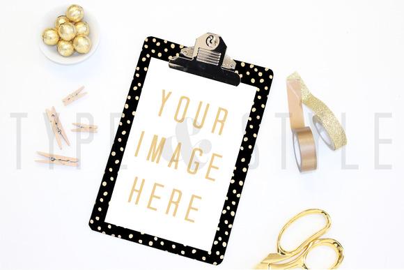 Styled Stock Photo Desk Setting