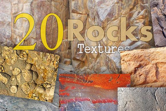 20 Rocks Textures
