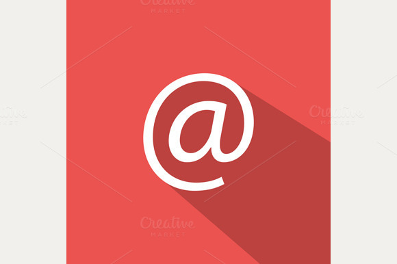 Flat Mail Icon