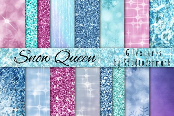 16 Ice Glitter Bokeh Textures