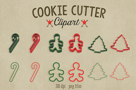 Cookie Cutter Clipart~Commercial Use