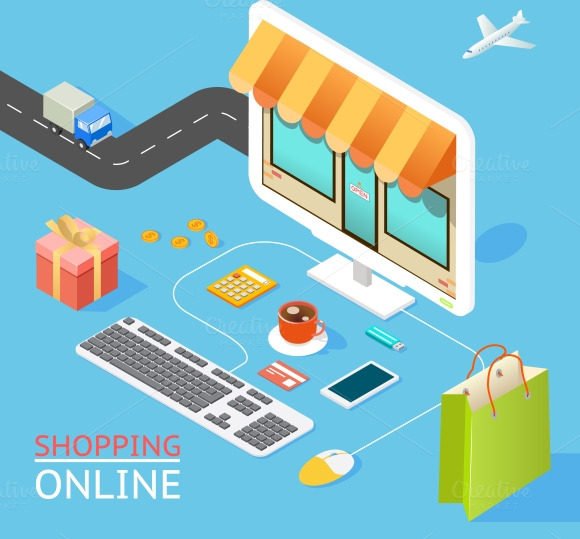 Concept Of Online Shop