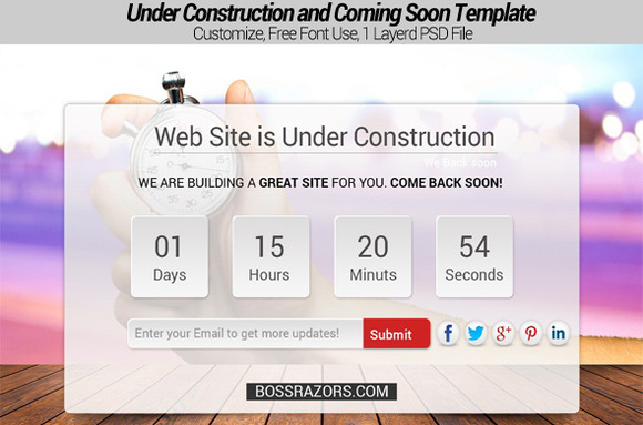 Under Construction And Coming Soon