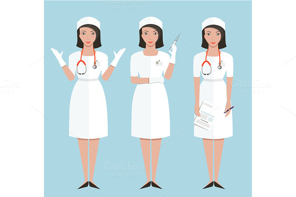 Woman Nurse Or Doctor