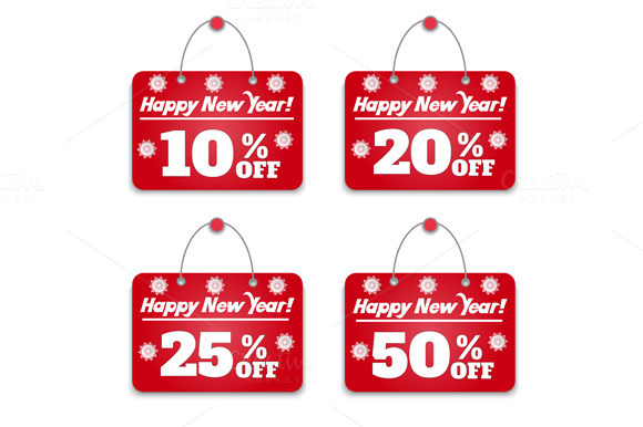 Sign Board Discount Set