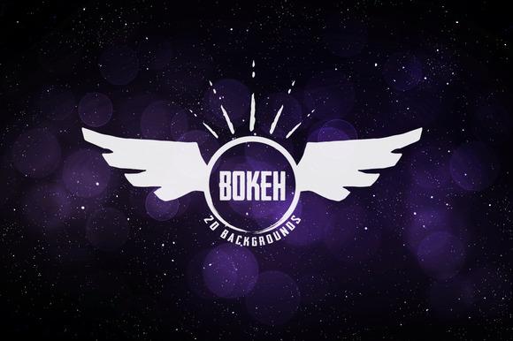 Twenty Bokeh Backgrounds