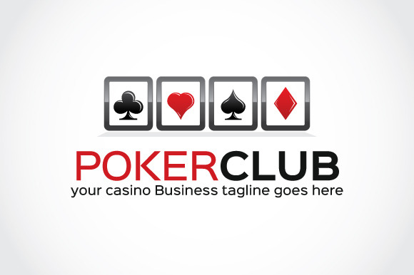 Poker Club Logo Template