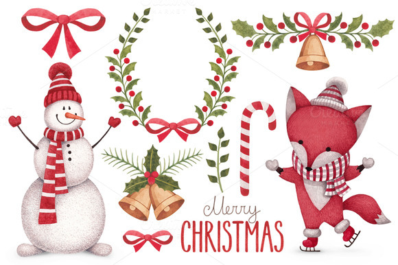 Cute Christmas Illustrations