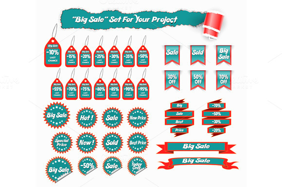 Big Sale Set Of Stickers