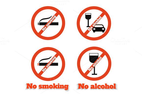 No Smoking No Alcohol