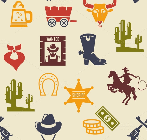 Western And Rodeo Pattern