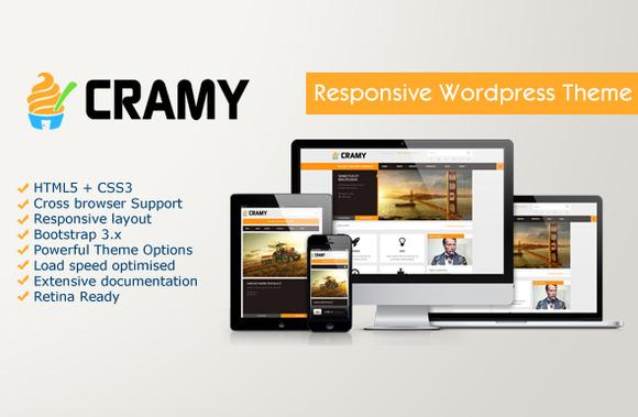 Cramy Multipurpose Wordpress Theme