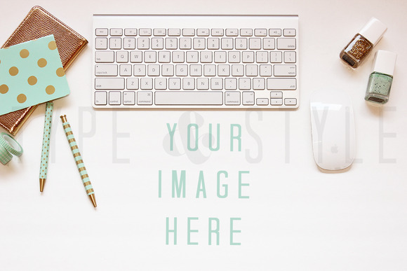 Styled Stock Photo Desktop